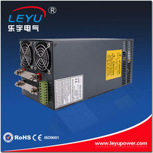 Forced air cooling by built-in DC fan SCN-1500-24 Single output 24v 1500W power supply(China)