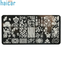 HAICAR DIY Nail Art Image Stamp Stamping Plates Manicure Template For Fashion Women Girl Stemping 6617