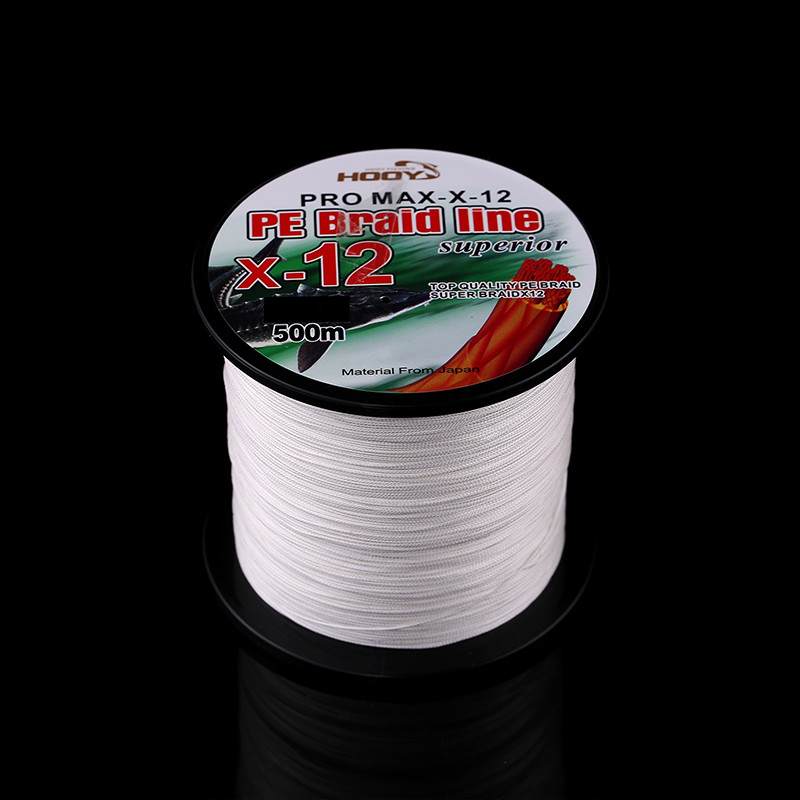 Super Strong Multifilament PE Braided Fishing Line 500m 12 Strands PE Braided Fishing Line 70LB-225LB Fishing Tackle (5)