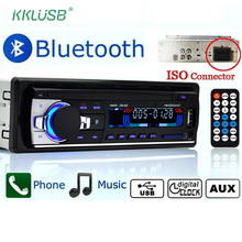 Autoradio Car Radio 12V Bluetooth V2.0 JSD-520 Stereo In-dash 1 Din FM Aux Input Receiver SD USB MP3 MMC WMA Car Radio Player(China)