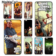 MaiYaCa Grand Theft Auto V gta 5 Роскошные гибридный мягкий чехол для iPhone 8 7 6 6 S Plus X 10 5 5S SE 5C Coque Shell(China)