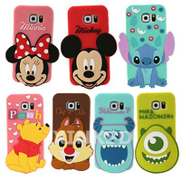 coque samsung galaxy s6 edge disney 3d