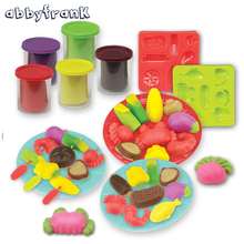 Abbyfrank Modeling Clay Diy 3D Fimo Air Dry Tools Kit Solid Color Plasticine Polymer Clay Learning Toys Gift For Children Kids(China)
