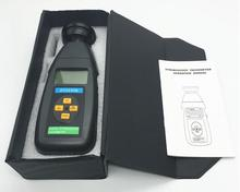 DT2240B Flash frequency Digital Speedometer / stroboscope / Non-contact tachometer 60~40000RPM(China)