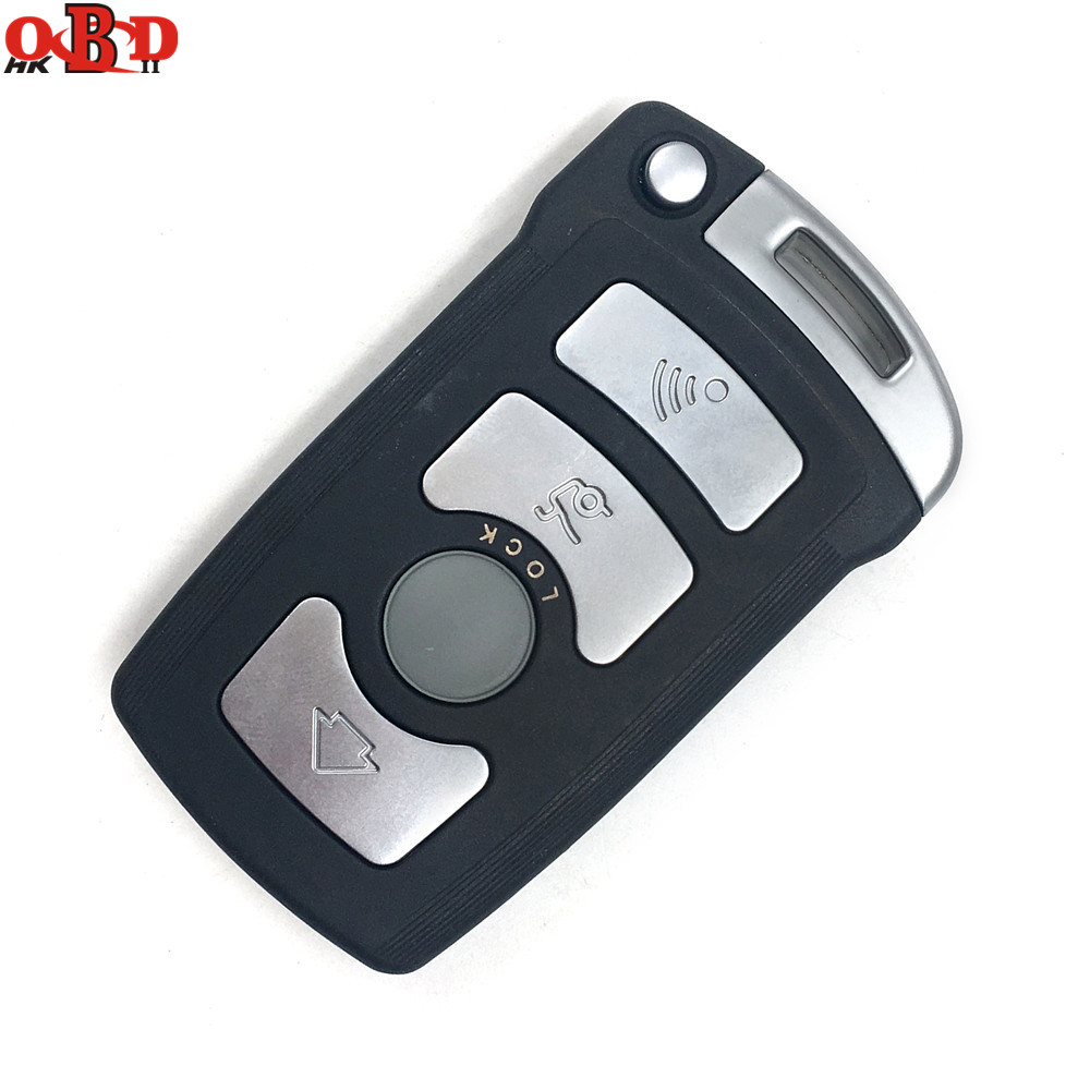 HKOBDII BM7 Full Remote Car Key 7945 chip for BMW 7 Series 730/740(E65/E66) CAS1/CAS2 Anti-theft System 315/433/868MHZ(China)