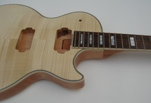 New 1 Piece unfinished guitar -----including guitar neck and guitar body set