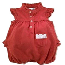 New 2016 Summer Baby Girl Boy One-pieces Jumpsuits Baby Clothing Fashion Short Sleeve Romper Lace Female Baby Romper clothing(China)