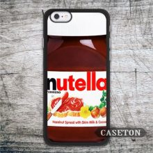 Nutella Bottle Funny Case For iPhone 7 6 6s Plus 5 5s SE 5c 4 4s and For iPod 5 Classic Lovely Cover Free Shipping