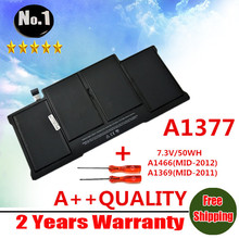 "Wholesales  NEW Original Laptop Battery For Apple Macbook Air 13"" A1369 [2010 Production]  Replace  A1377  free shipping"