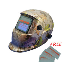 Cheap Factory High Quality custom Auto Darkening Hot Sell Filter Welding Helmet TRQ-HD04 with 2200de