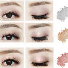 1 Pcs 3 Colors Crystal diamond Makeup  Eyeshadow Smoky Eye Shadow Silky  Flash Powder  Perfect   Cosmetic Maquillage 0272