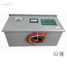 SANYI AMANDLA 800KW Power Saver for Industrial 3 Phase Voltage Stabilizer with Stainless Case Electricity Energy Saving Device