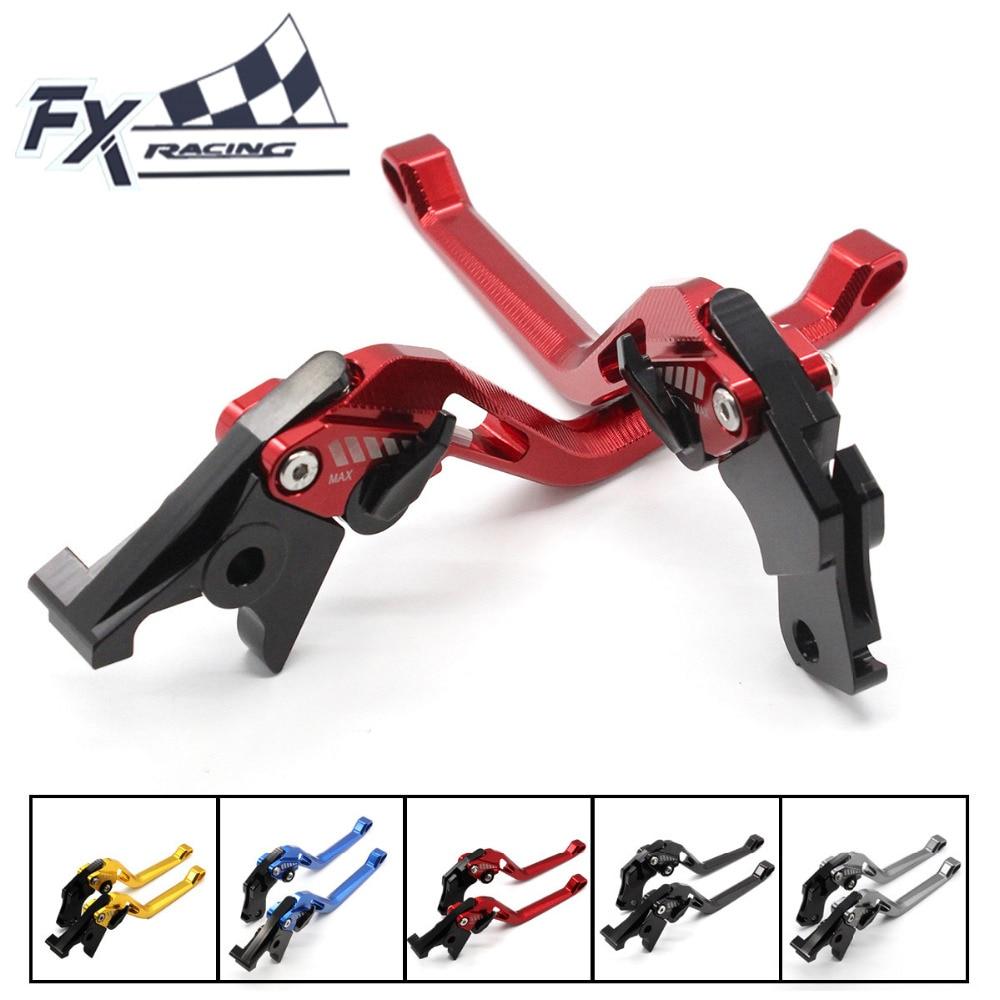 FX CNC Aluminum Adjustable 3D Rhombus Motorcycle Brake Clutch Lever For Yamaha MT03 MT-03 2006-2011 TDM 900 2004-2006 2012-2014<br>