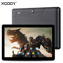 XGODY X10 10.1 Inch 3G Unlock Dual Sim Phone Call Tablet MTK MT8321 Quad Core 1G+16G Android 5.1 1280*800 4200mAh 10 inch Tablet