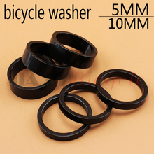 3Pcs Bicycle washers fixed gear Mountain Bike road bike foldable bicycle Headset washer 28.6MM Aluminum alloy Modified