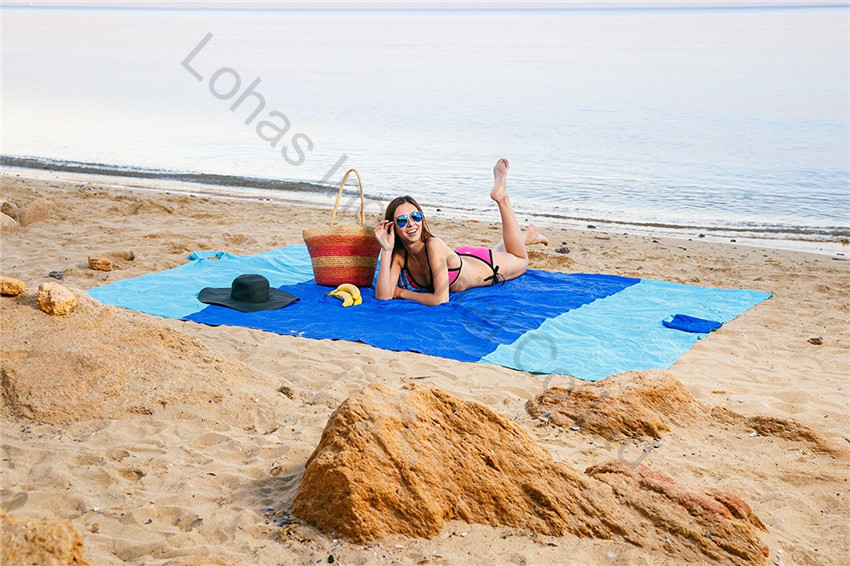 Sand Escape Compact Outdoor Beach Blanket mat new stlye32