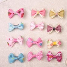 Small Mixed Package / Handmade Pet Dogs Accessories Ribbon Bow. Dogs Grooming BB Yorkie Show Supplies. Free Shipping 100pcs/lot