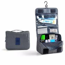 Pockettrip Hanging Toiletry Kit Clear Travel BAG Cosmetic Carry Case Toiletry Organizer Women Cosmetic Cases Travel Bag