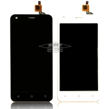 Black/White Fly FS454 LCD Display Touch Screen Digitizer Assembly Replacement For Fly FS454 nimbus 8 FS 454 Cell Phone Parts