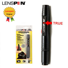 100% Original Genuine Brand LENSPEN LP-1 Dust Cleaner Camera Cleaning Lens Pen Brush kit for Canon Nikon Sony Filter DSLR SLR DV(China)