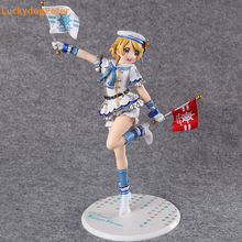 Love Live! School Idol Project Koizumi Hanayo Action Figure Sailor Suit Ver. Koizumi Hanayo Doll PVC figure Toy Brinquedos Anime