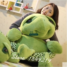 Dorimytrader 150cm Giant Plush Soft Animal Tortoise Toy 59'' Big Stuffed Cartoon Turtle Doll Great Present Free Shipping DY61194