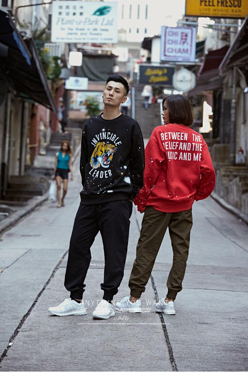 Aolamegs Male Sweatshirt Tiger Inked Print Sweatshirts O-Neck Pullover Streetwear High Street Hip hop Fashion New Autumn Winter (10)