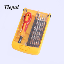 Tiepai 32 in1 Multifunctional Precision Screwdriver Set For iPhone Laptop Mini Electronic Screwdriver Bits Repair Tools Kit Set
