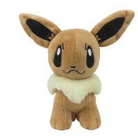Hot Sale 20cm Soft Plush Stuffed Toys Cute Pokemon Plush Toys for Children's Cartoon Pokemon Dolls