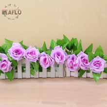1PC Artifical Flowers Rose Rattan Vine Silk Flower For Home Wedding Decorative Floral Floristry