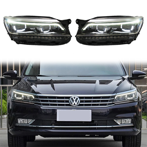 HID Bixenon Headlight Assembly For Valkswagen VW Passat 2016-2018 car 1