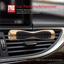Car Perfume Air Freshener Clip in the Car Air Conditioner 100% Original Perfume and Fragrance for Man Women Aluminum Car Hammer
