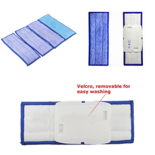 4Pcs Washable Wet Mopping Damp Dry Pads Replacement Mopping Replacement Robot Washable Cleaning Cloth Mopping Pads
