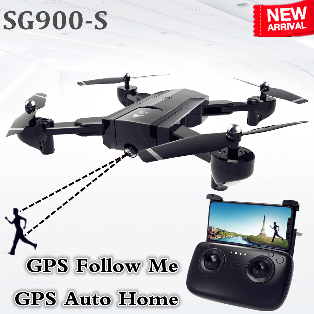 SG900-S GPS Drone with camera HD 1080P Professional FPV Wifi RC Drones Altitude Hold Auto Return Dron RC Quadcopter Helicopter(China)