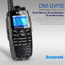 Wholesale Oringinal TYT Two Way Radio 256CH Digital Walkie Talkie DPMR Ham Transceiver VHF+UHF 136~174+400~470MHz Free Shipping