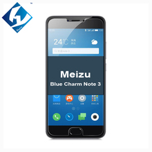 9H Clear Tempered Glass Film For Meizu Meilan Note 3 Screen Protector 5.5inch Meizu Blue Charm Note 3 No Finger Print Protective