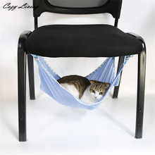 Pet Bed Mat For Cats 1 PC Cat Bed Mat For Summer Ventilation Net Cloth Pet Cages Hammock Under The Chair Wholesale D29