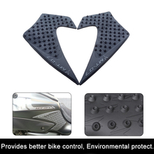 For Yamaha MT-07 MT07 2013 2014 2015 16 17 Motorcycle Anti slip Tank Pad 3M Side Gas Knee Grip Traction Pads Protector Stickers(China)