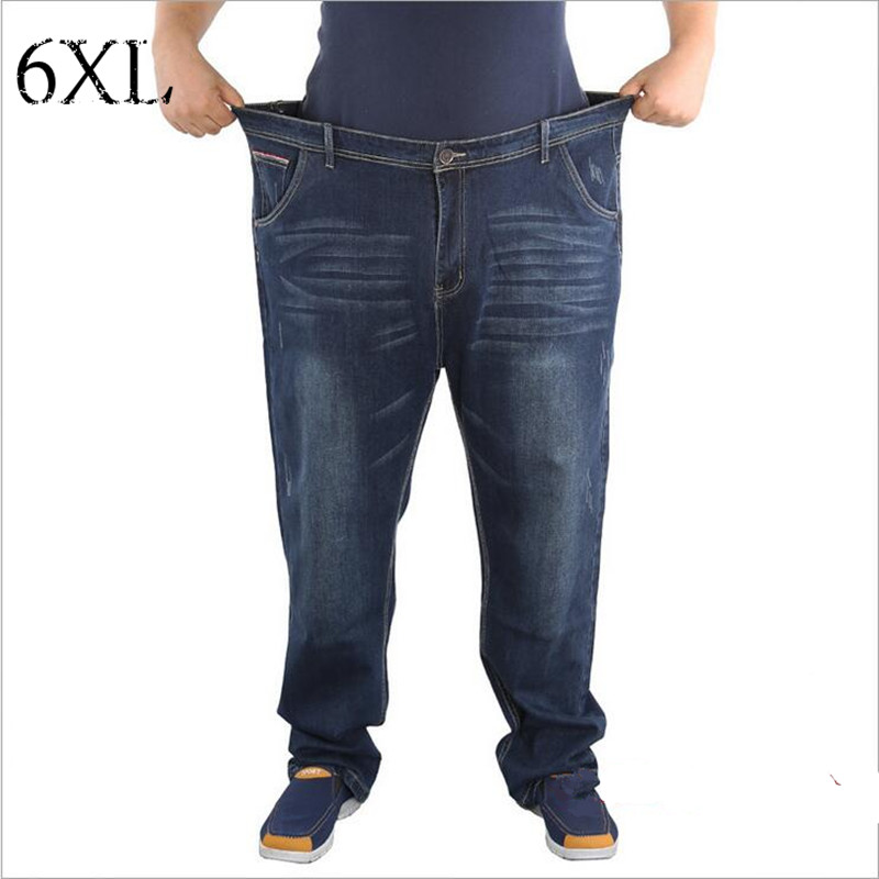 6 EXTRA LARGE Mens Jeans Version Original Single Trade Straight Mens Jeans Plus Size Full Length JeansОдежда и ак�е��уары<br><br><br>Aliexpress