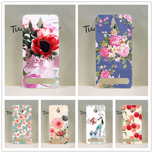 Patterns Painting Case For SONY Xperia E1 D2004 D2005 D2105 Newest Popular Cover Pink Tree Design For Sony E1 Case Cover Holder
