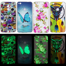 New Arrival Noctilucent Phone Case For Huawei P8 Lite 2017 Cover 3D Cartoon Animal Plant Soft TPU Silicone Casing Housing Coque