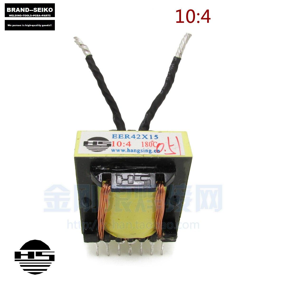 Inverter Welding Machine 10:4 2pcs/lot Board Transformer Eer42x15 Compatible Eer43x15<br><br>Aliexpress