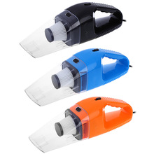 New Hand Mini Car Vacuum Cleaner 12V 120W Portable Handheld Wet Dry Dual-use Super Suction Dust Cleaner Catcher Collector
