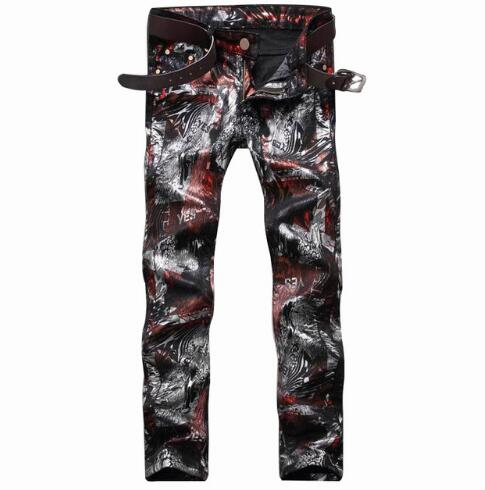 #1549 Motorcycle 3d print jeans Denim Joggers Men biker jeans Designer jeans men Skinny Famous brand homme Rock jeans Club WearОдежда и ак�е��уары<br><br><br>Aliexpress