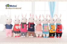 1Pcs Genuine Metoo Toys Tiramisu Rabbits Super Quality Cute Rabbits Stuffed Animals Prefect Gifts For Girls And Children