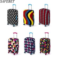 SAFEBET Brand Elastic Luggage Protective Cover For 18 to30 Inch Cases suitcase Dust Bags Case Travel Accessories Supplies