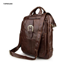 YUPINXUAN Europe Designer Cow Leather Backpacks Mens Real Leather School Backpack Fashion Teenager Leather Bag Hombre Mochilas(China)