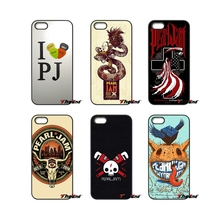 Pearl Jam lyrics Pattern American rock band Case For iPhone 4 4S 5 5C SE 6 6S 7 Plus Samsung Galaxy Grand Core Prime Alpha(China)