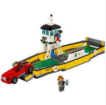 Lepin 02045 337Pcs CITY Ferry Boat Ship Building Blocks Educational Toys For Children 60119 Boy Girl Gifts(China)