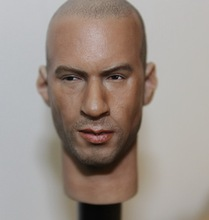 "Headplay 1/6 Vin Diesel Head Sculpt Fast & Furious Bissell For 12"" Collectible Action Figure DIY"